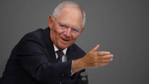 Schäuble bringt Bewegung in Bund-Länder-Streit