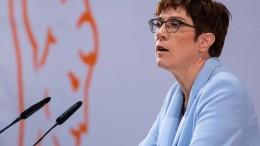 """""""Bundeswehr soll öfter ins Ausland"""""""