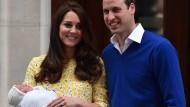 Herzogin Kate bringt Sohn zur Welt