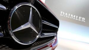 Dieselaffäre weitet sich auf eine Million Daimler-Autos aus