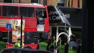 Der Unfall ereignete sich Donnerstagmorgen in Lavender Hill.