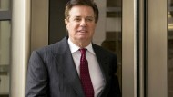 Trumps ehemaliger Wahlkampfmanager Paul Manafort (Archivbild Anfang April in Washington).