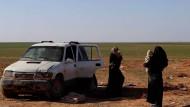 Leonora M. stellte sich im Januar 2019 an der syrisch-irakischen Grenze kurdischen Kräften der Freien syrischen Armee
