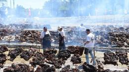 Weltrekord für größtes Grillfest in Uruguay aufgestellt