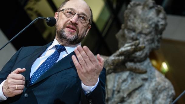 Schulz bittet SPD-Mitglieder in Brief um Groko-Zustimmung