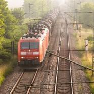 Ein Güterzug der Deutschen Bahn (Symbolbild)