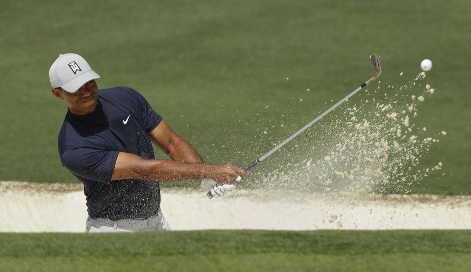 Tiger Woods zeigte in Augusta wieder ungewohnte Schwächen bei den Putts aus drei Metern Entfernung und weniger.