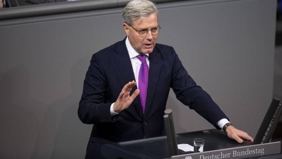 Norbert Röttgen wirft seinen Hut in den Ring
