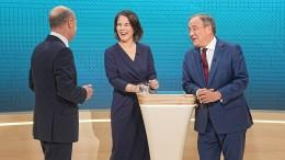 Wie schlagen sich die Kandidaten im letzten Triell?