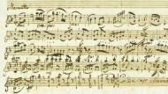 238 Jahre alt: Mozart-Manuskript für 130.000 Euro versteigert