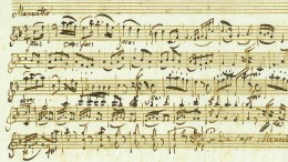 Mozart-Manuskript für 130.000 Euro versteigert