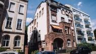 Beste Lage: Die Verurteilten kauften Wohnhäuser, um sie zu sanieren und die Mieten zu erhöhen. Dieses Haus an der Schumannstraße im Westend gehörte dazu.