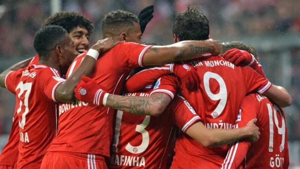 Die Bayern sind in ihrer eigenen Welt