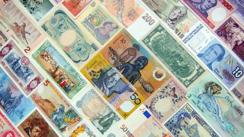 Australische Dollar sind inmitten aller Währungen als Alternative zum Euro sehr gefragt