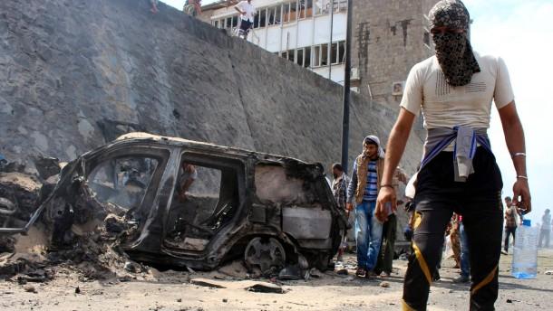 Gouverneur von Aden getötet