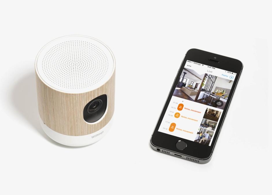 withings berwachungskamera alarm bei einbruch und schlechter luft computer internet faz. Black Bedroom Furniture Sets. Home Design Ideas