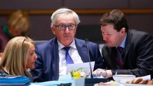 """Juncker: """"Wenn Ihr einen Rücktritt erwartet – dann meinen"""""""