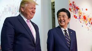Handelsvertrag zwischen Japan und Amerika