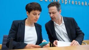 Petry und Pretzell nennen Vorbilder für neue Partei