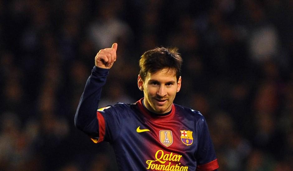 86 Tore in einem Kalenderjahr: Lionel Messi