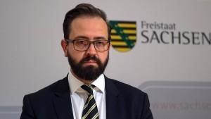 Sachsens Justizminister gibt erstmals Fehler zu