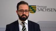 Sachsens Justizminister Sebastian Gemkow (CDU) räumt Fehler ein.