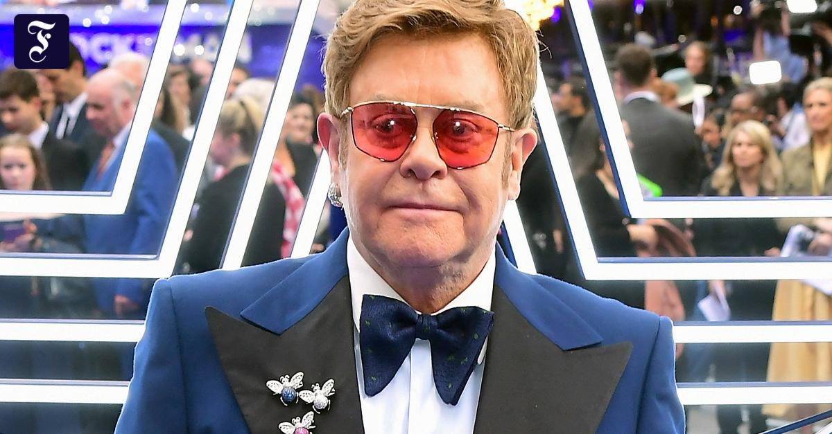 Elton John macht sich für britische Künstler stark - FAZ - Frankfurter Allgemeine Zeitung