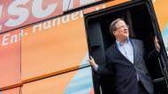 Armin Laschet auf Wahlkampftour in NRW