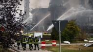 Zur möglichen Ursache der Detonation wurden noch keine Angaben gemacht.