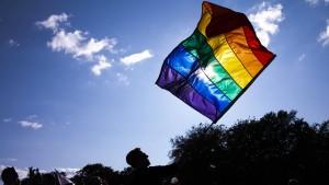 Hoher Besuch bei der Pride Parade in Kopenhagen