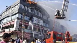 Feuer in Nachhilfeschule in Indien