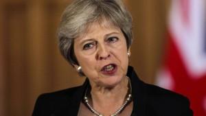 May lässt offenbar Notfallplan für Neuwahlen ausarbeiten