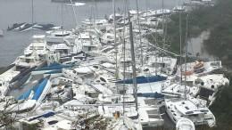 """Hurrikan """"Irma"""" verwüstet die Karibik"""