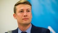 Der Berliner Landesvorsitzende der Jungen Alternative, David Eckert, ist nicht zufrieden mit dem Abschneiden der AfD bei der Europawahl.