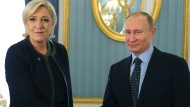 Putin empfängt Front-National-Chefin Le Pen im Kreml