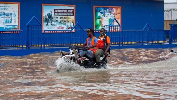 "Tropensturm ""Grace"" bringt Haiti Regenmassen"