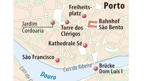 Karte / Porto