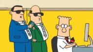 Ein Comic in sechs Bildern