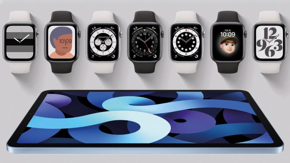 Die neue Apple Watch und das iPad Air