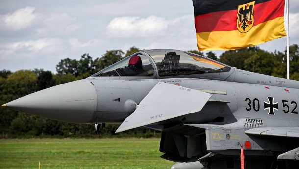 Deutschland bekommt 38 neue Eurofighter