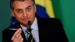 """Bolsonaro erleichtert Waffenbesitz für """"gute Bürger"""""""