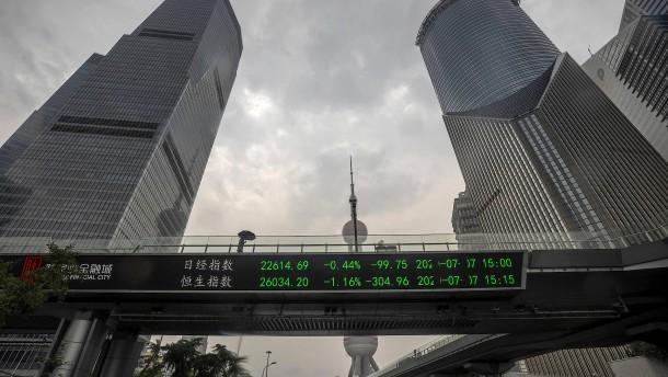 Chinas Börse triumphiert