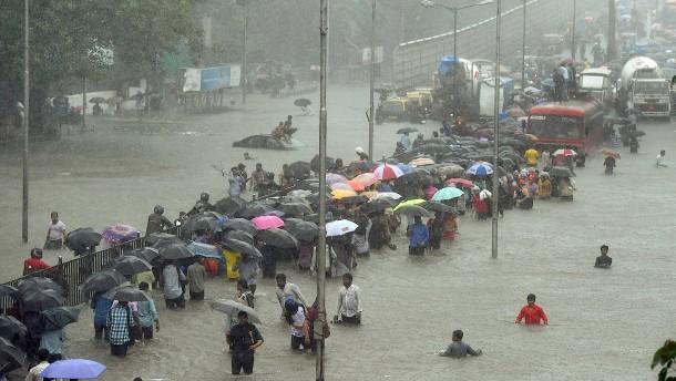 Viele Tote und verheerende Schäden durch Monsun in Indien