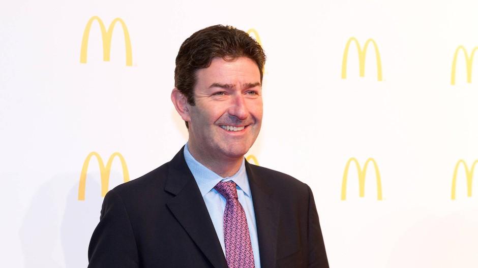 Der ehemalige McDonald's-Chef Steve Easterbrook