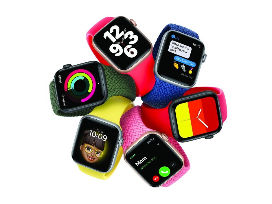 Bunte Mischung: Die Apple Watch SE zum kleinen Preis.