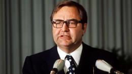 Früherer BKA-Präsident Herold gestorben