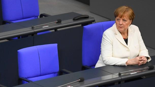 """""""Merkel muss den Weg frei machen"""""""
