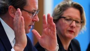 Scheuer kritisiert Ministerkollegin Schulze