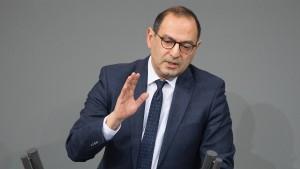 Der Grieche im Bundestag