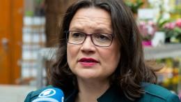 Nahles will Maaßen-Deal neu verhandeln